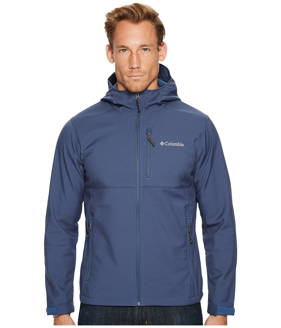 Columbia - Ascendertm Hooded Softshell Jacket (Dark Mountain) Men's Coat