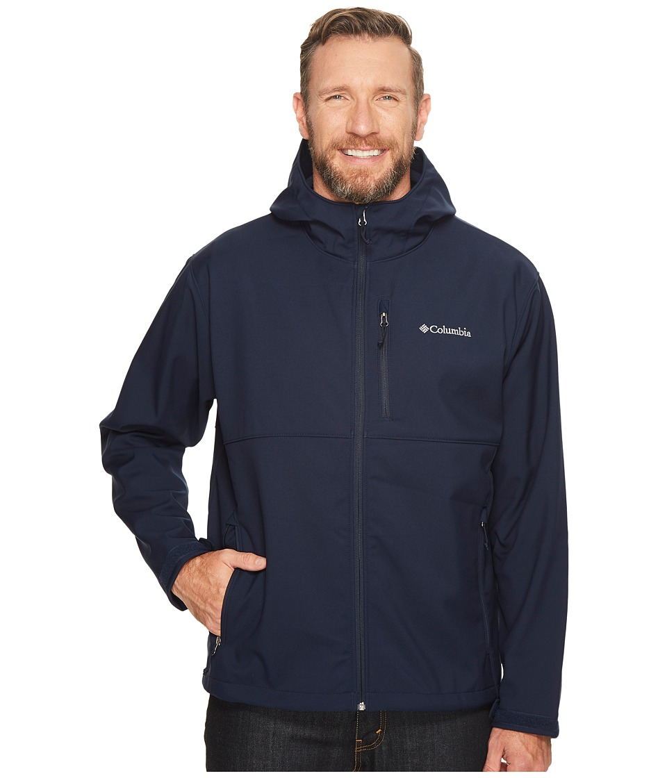 Columbia - Big Tall Ascendertm Hooded Softshell Jacket (Collegiate Navy) Men's Coat