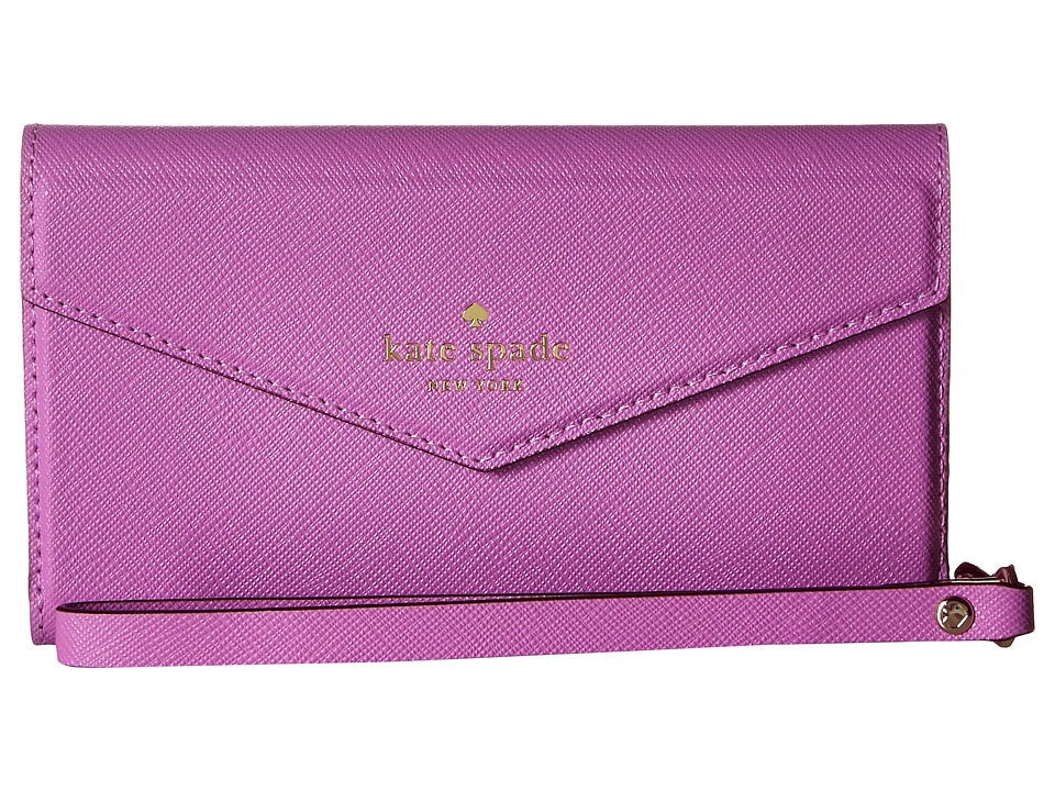 Kate Spade New York - Envelope Wristlet Phone Case for iPhone(r) 7 (Morning Glory) Cell Phone Case