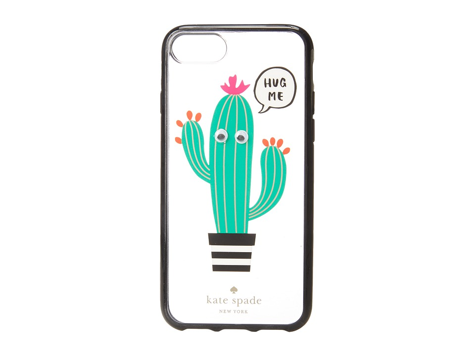 Kate Spade New York - Hug Me Phone Case for iPhone(r) 7 (Clear Multi) Cell Phone Case