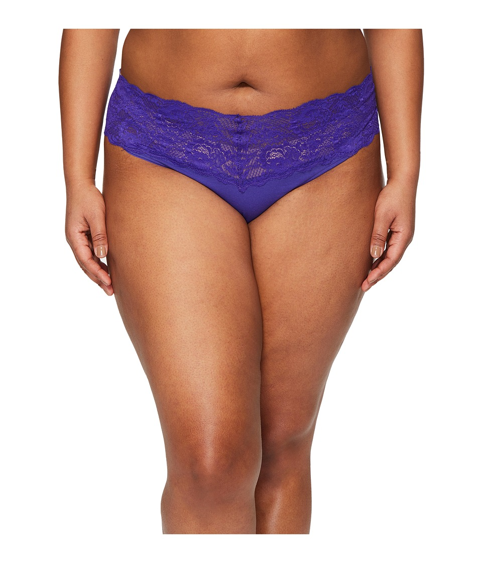 Cosabella - Extended Size Never Say Never Lovely Thong (Regency Purple) Women's Underwear