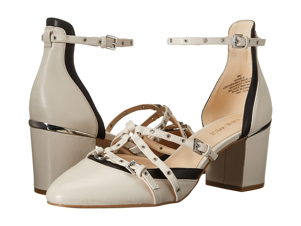 Nine West Abla (Off-White Multi Leather) Women