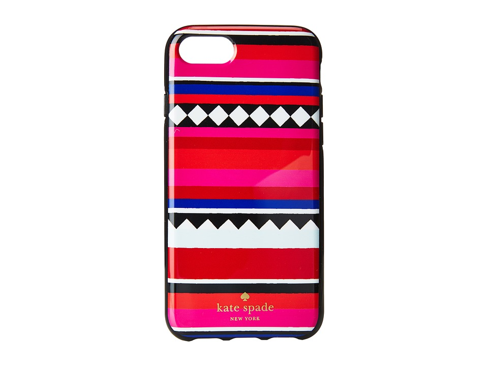 Kate Spade New York - Geo Stripe Phone Case for iPhone(r) 7 (Multi) Cell Phone Case