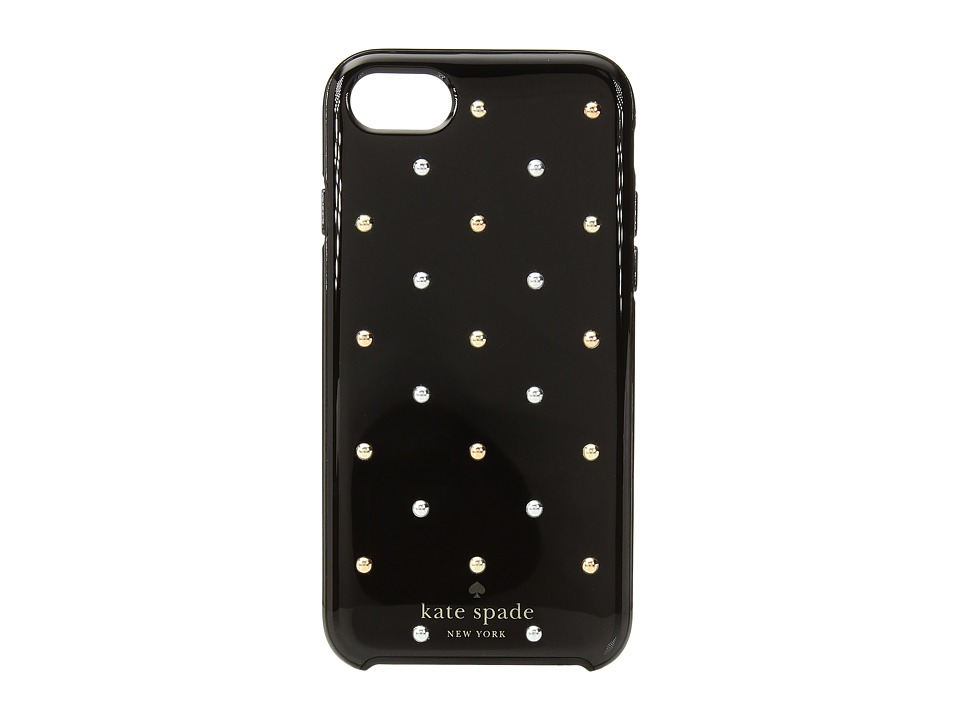 Kate Spade New York - Larabee Dot Mini Stud Phone Case for iPhone(r) 7 (Black Multi) Cell Phone Case