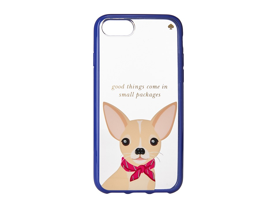 Kate Spade New York - Jeweled Chihuahua Phone Case for iPhone(r) 7 (Clear Multi) Cell Phone Case