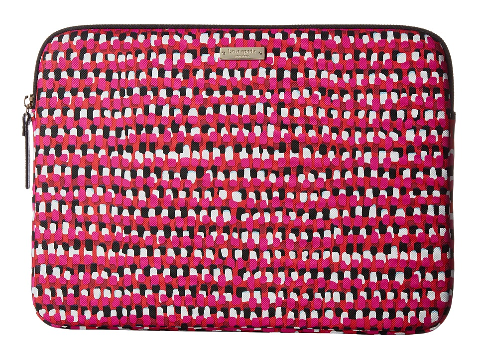 Kate Spade New York - 13 Inch Pinata Laptop Sleeve Laptop Cases (Pink Multi) Wallet