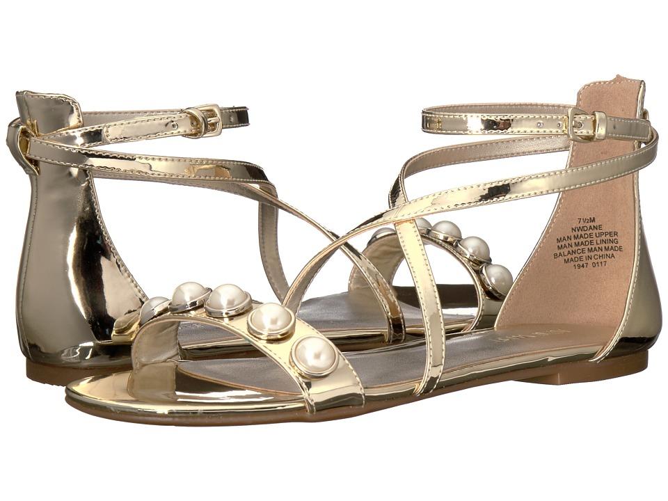 Nine West - Dane 3 (Light Gold Patent) Women's Shoes