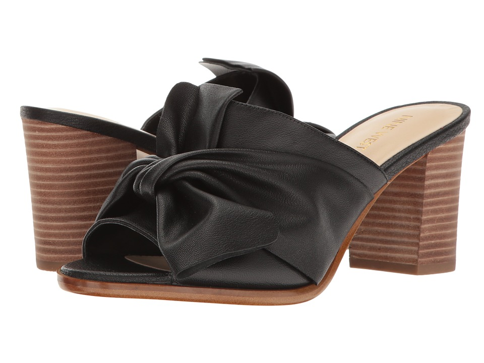 Nine West - Byron (Black Leather) High Heels