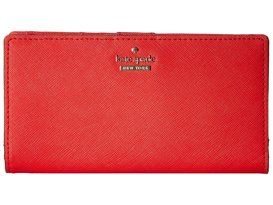 Kate Spade New York - Cameron Street Stacy (Prickly Pear) Wallet