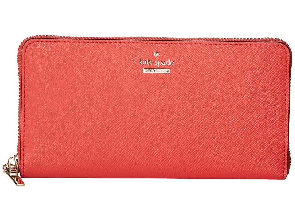Kate Spade New York - Cameron Street Lacey (Prickly Pear) Wallet