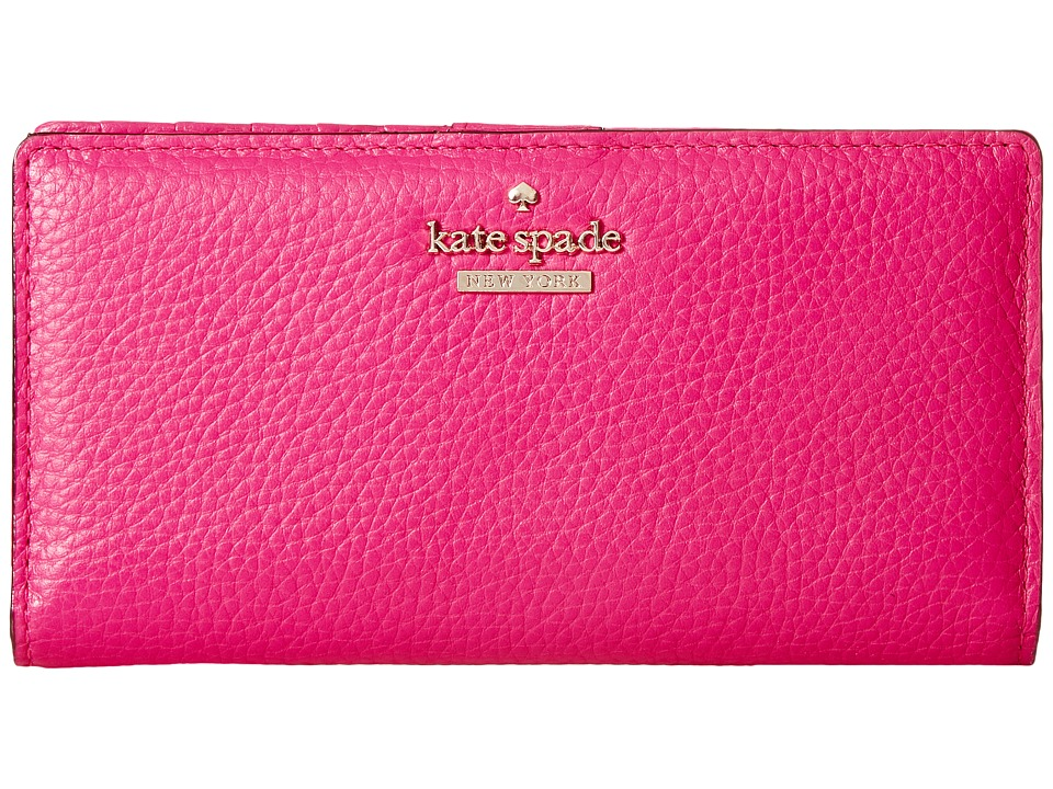 Kate Spade New York - Jackson Street Stacy (Peony Pink) Wallet