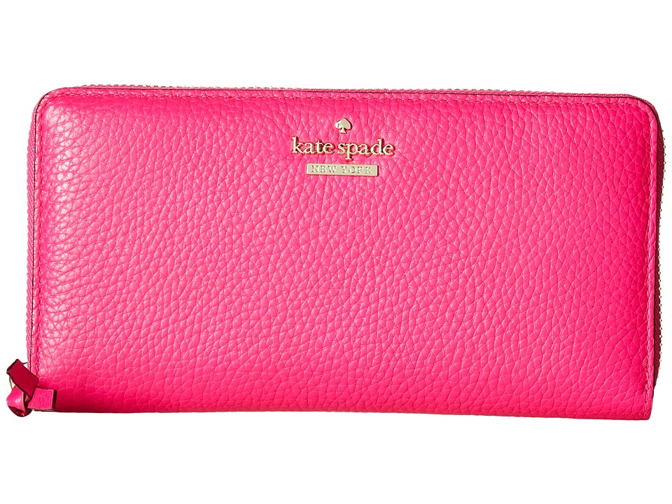 Kate Spade New York - Jackson Street Lacey (Peony Pink) Wallet