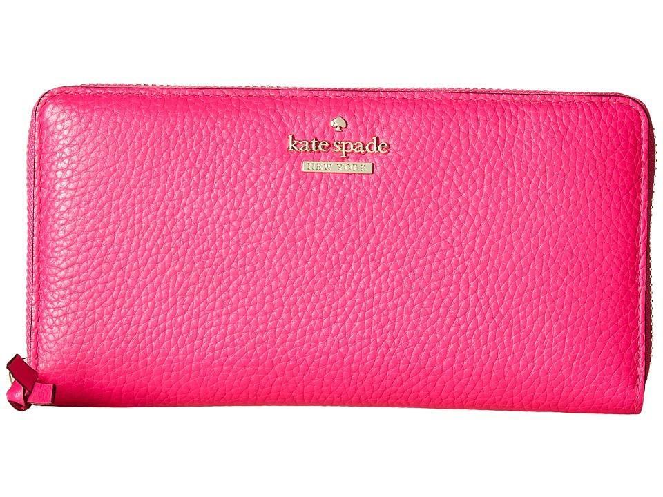 Kate Spade New York - Jackson Street Lacey (Peony Pink) Wallet