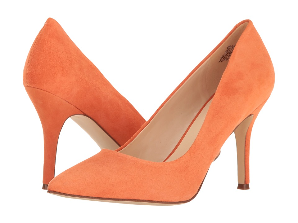 Nine West - Flax (Orange Suede) High Heels