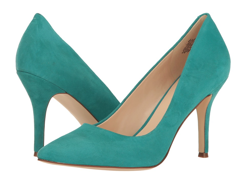 Nine West - Flax (Dark Turquoise Suede) High Heels