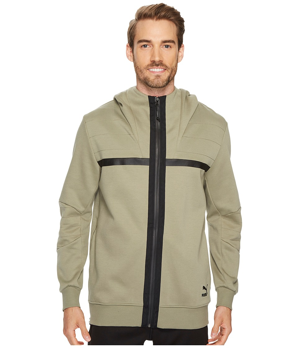PUMA - Encounter Hoodie (Vetiver) Men's Sweatshirt