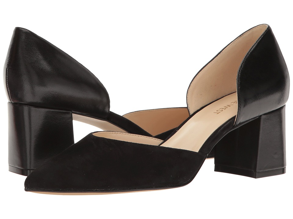 Nine West - Huett (Black Leather) Women's Shoes