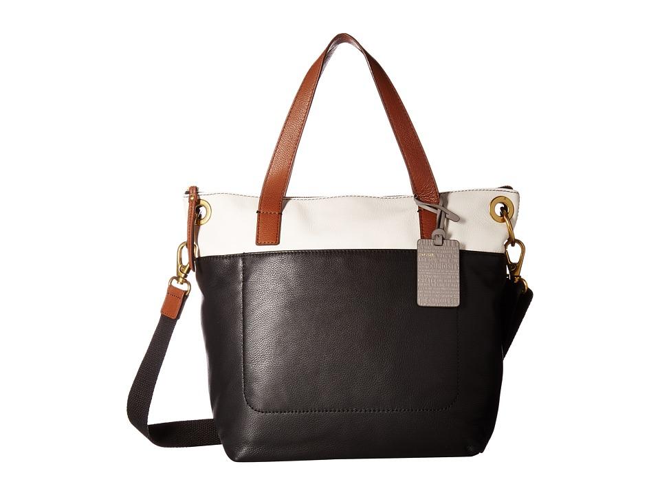Fossil - Keely Tote (Black Multi) Tote Handbags