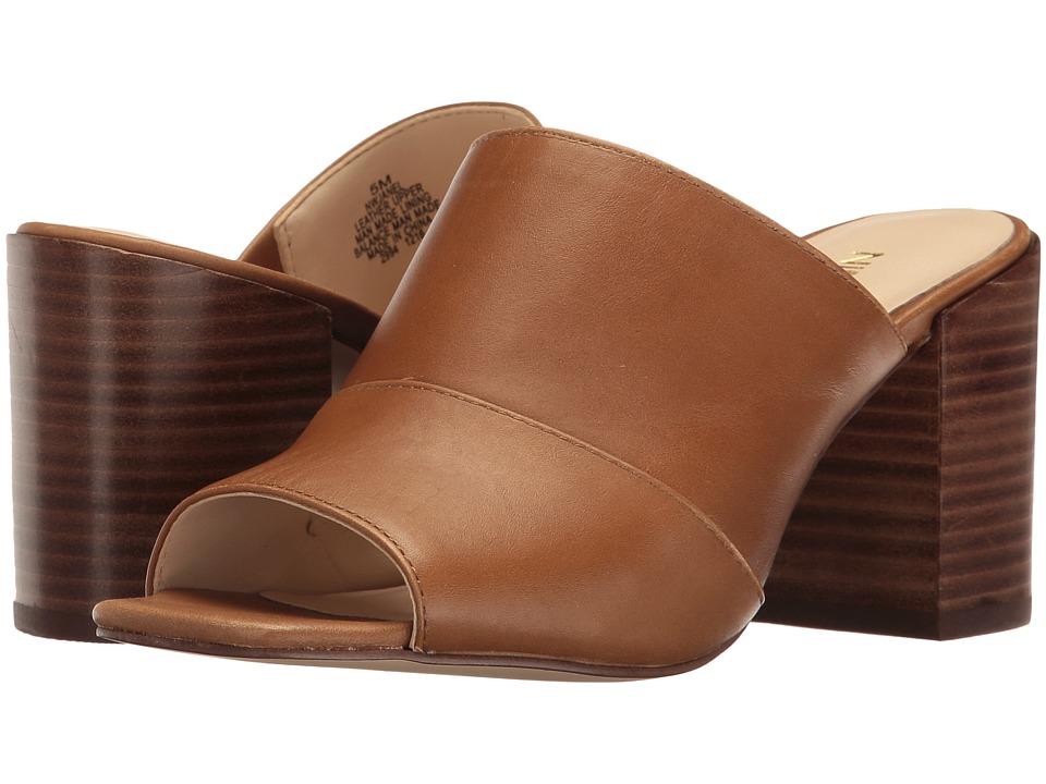 Nine West - Janel (Cognac Leather) High Heels