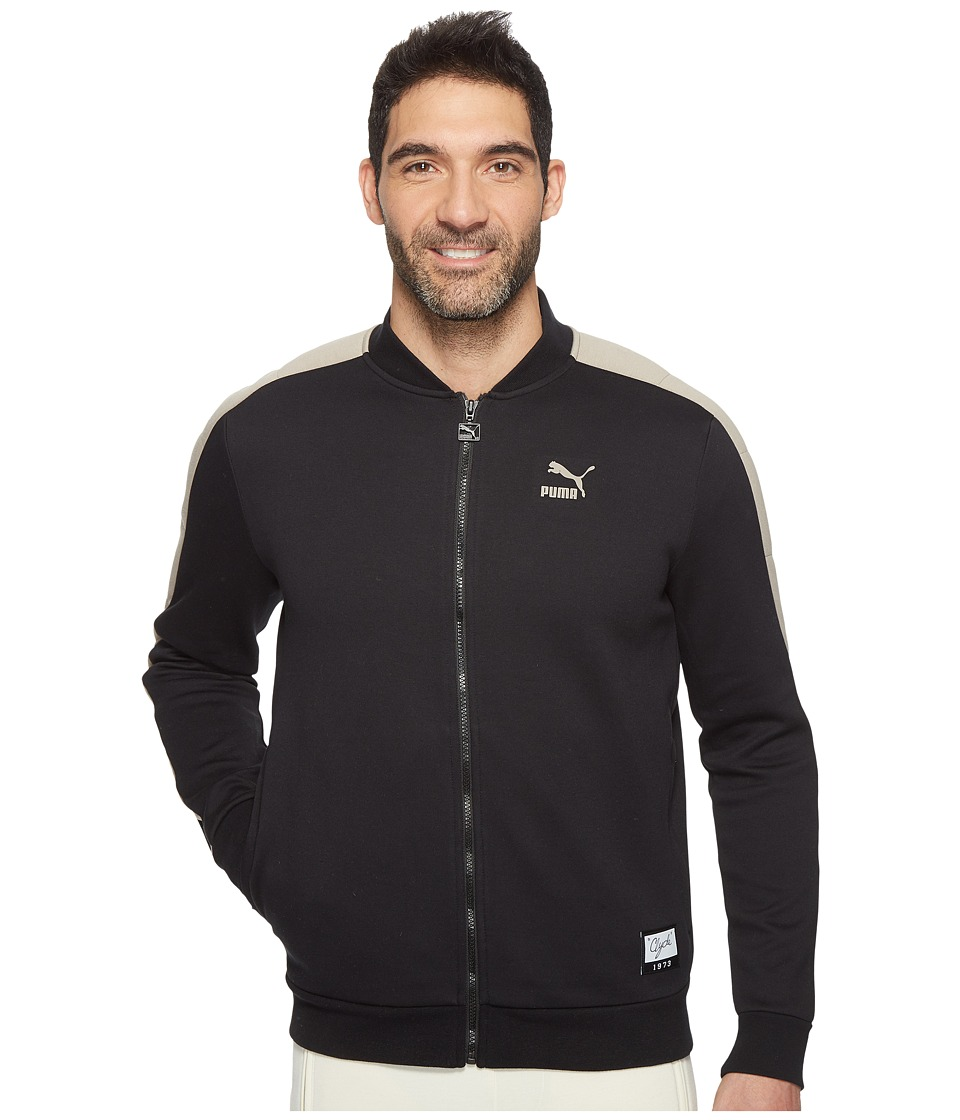 PUMA - Winter Long Sweat Jacket (Cotton Black) Men's Coat