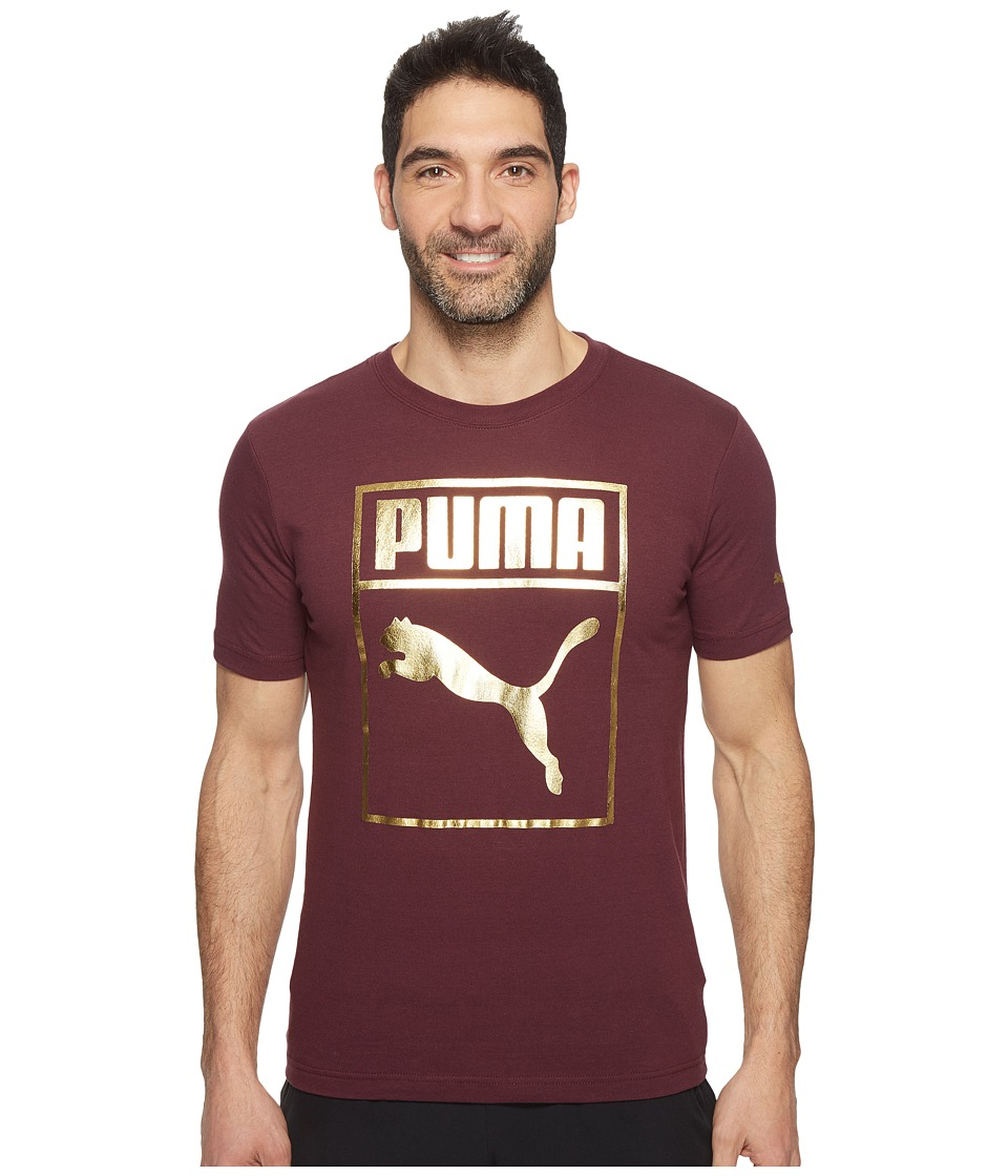 PUMA Sneaker Tongue Metallic (Winetasting) Men
