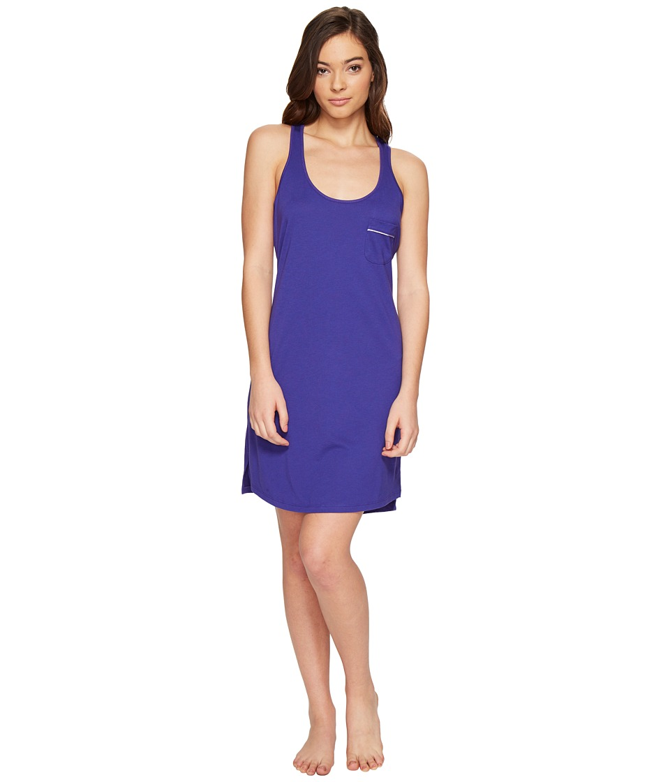 Cosabella - Amore Bella Racerback Dress (Regency Purple/Periwinkle) Women's Pajama