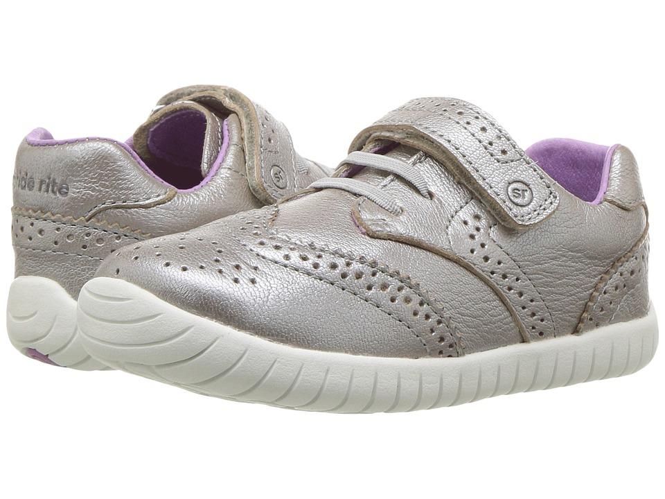 Stride Rite SRTech Addison (Toddler) (Platinum) Girls Shoes