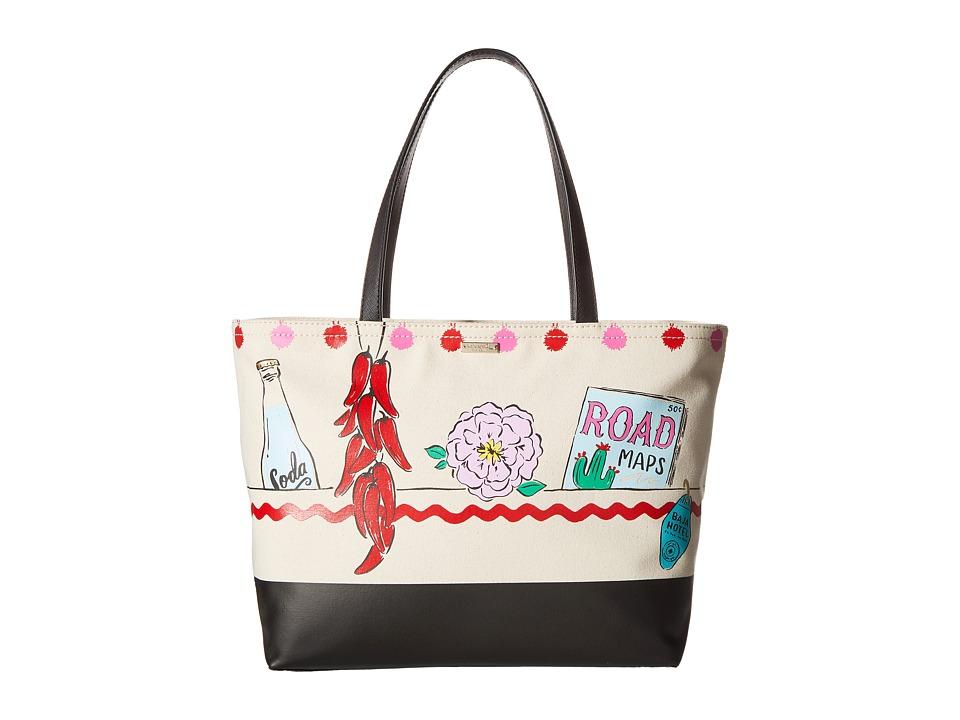 Kate Spade New York - Haute Stuff Road Trip Francis (Multi) Handbags
