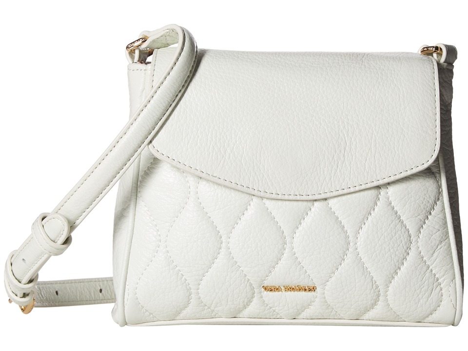 Vera Bradley - Quilted Sarah Crossbody (White) Cross Body Handbags