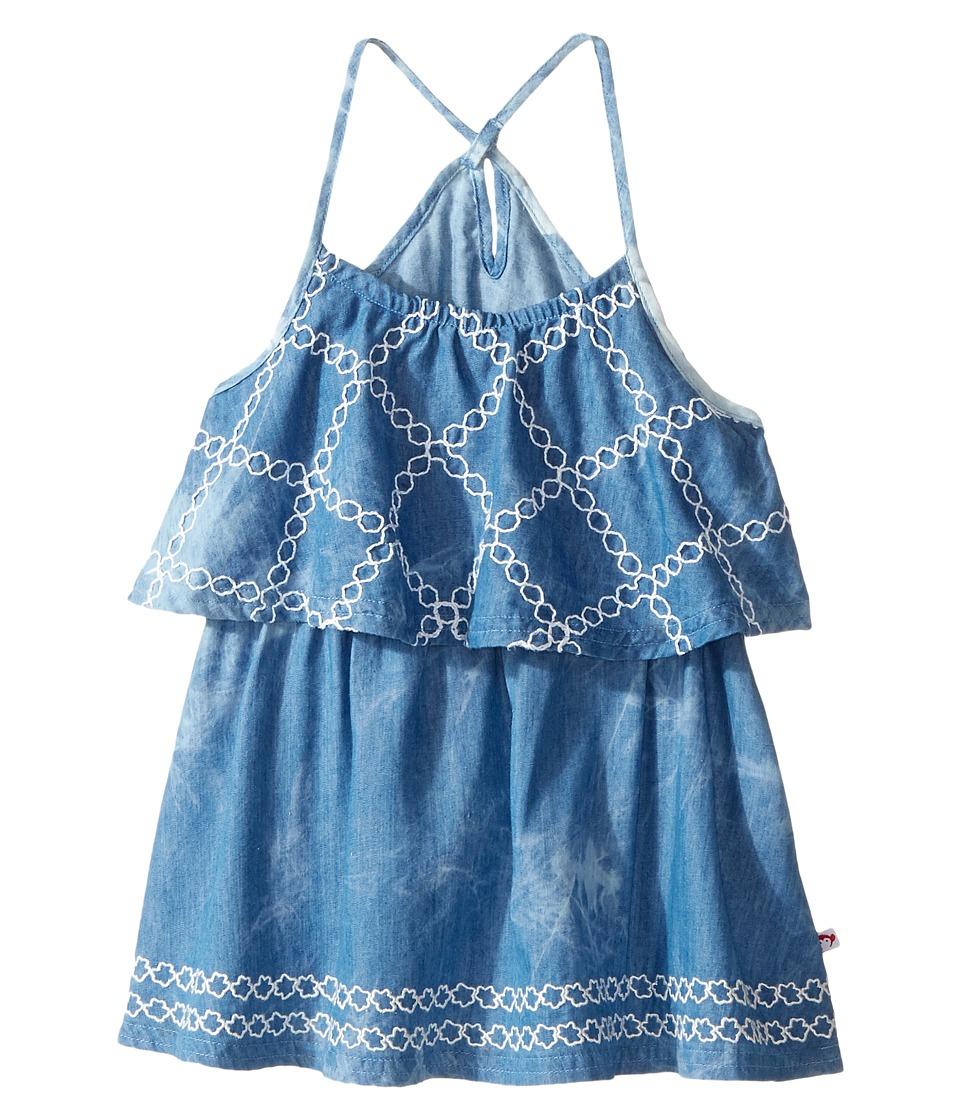 Appaman Kids - Lee Dress (Toddler/Little Kids/Big Kids) (Isla Chambray) Girl's Dress