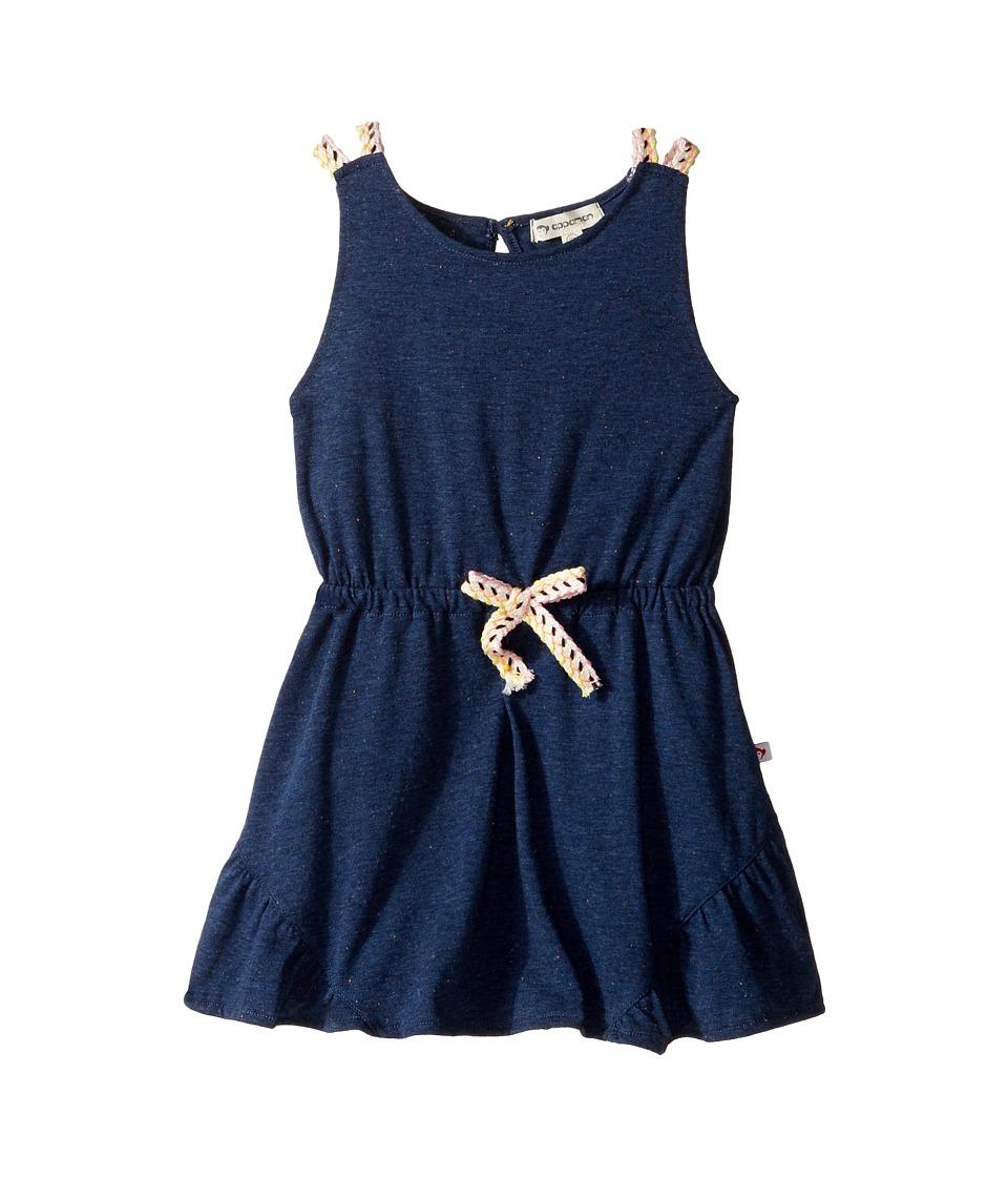 Appaman Kids - Tinos Dress (Toddler/Little Kids/Big Kids) (Speckled Navy) Girl's Dress