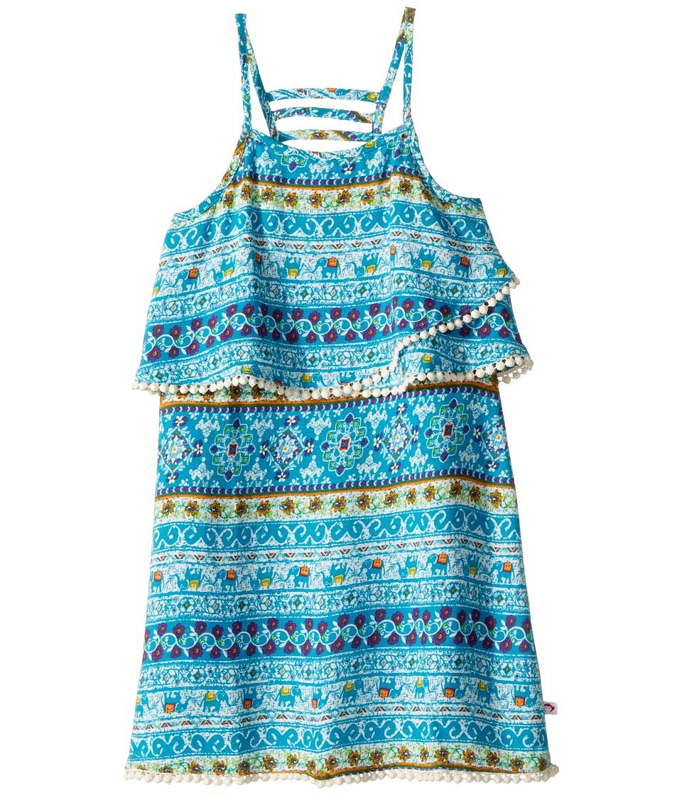 Appaman Kids - Kolan Dress (Toddler/Little Kids/Big Kids) (Elephant Bay) Girl's Dress