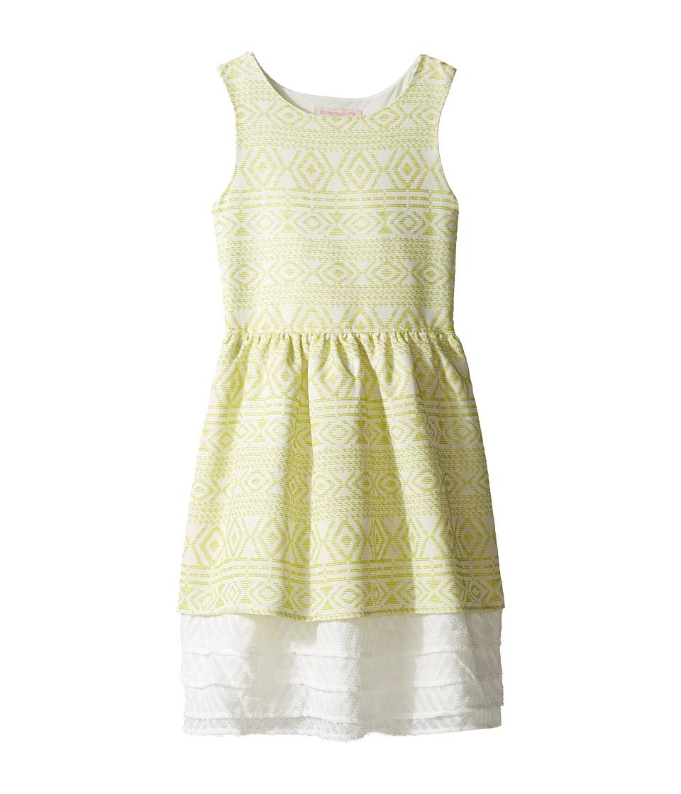Image of Appaman Kids - Amaryllis Dress (Toddler/Little Kids/Big Kids) (Citrus Ice) Girl's Dress
