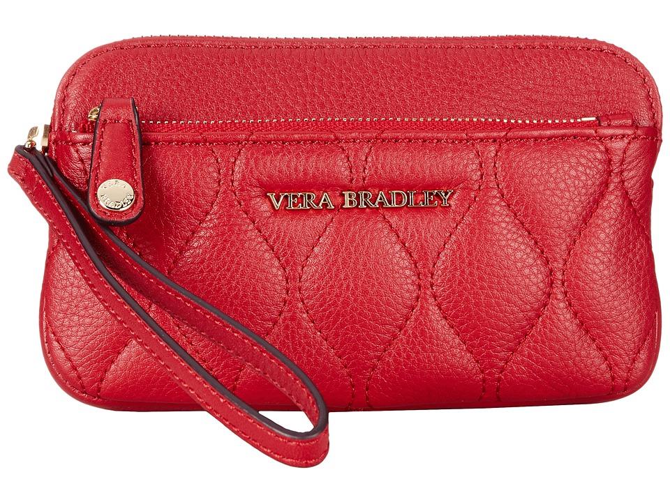 Vera Bradley - Quilted Sophie Wristlet (Tango Red) Wristlet Handbags