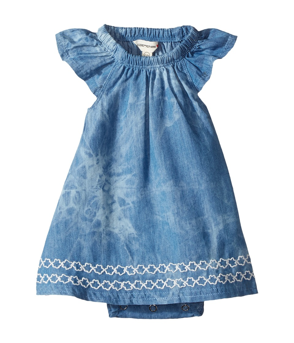Appaman Kids - Malai One-Piece Dress (Infant) (Isla Chambray) Girl's Jumpsuit & Rompers One Piece