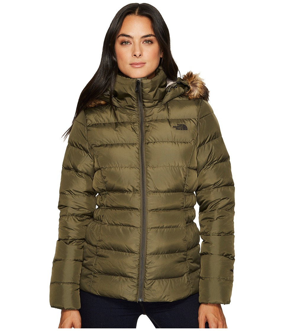 The North Face Gotham Jacket II (New Taupe Green) Women