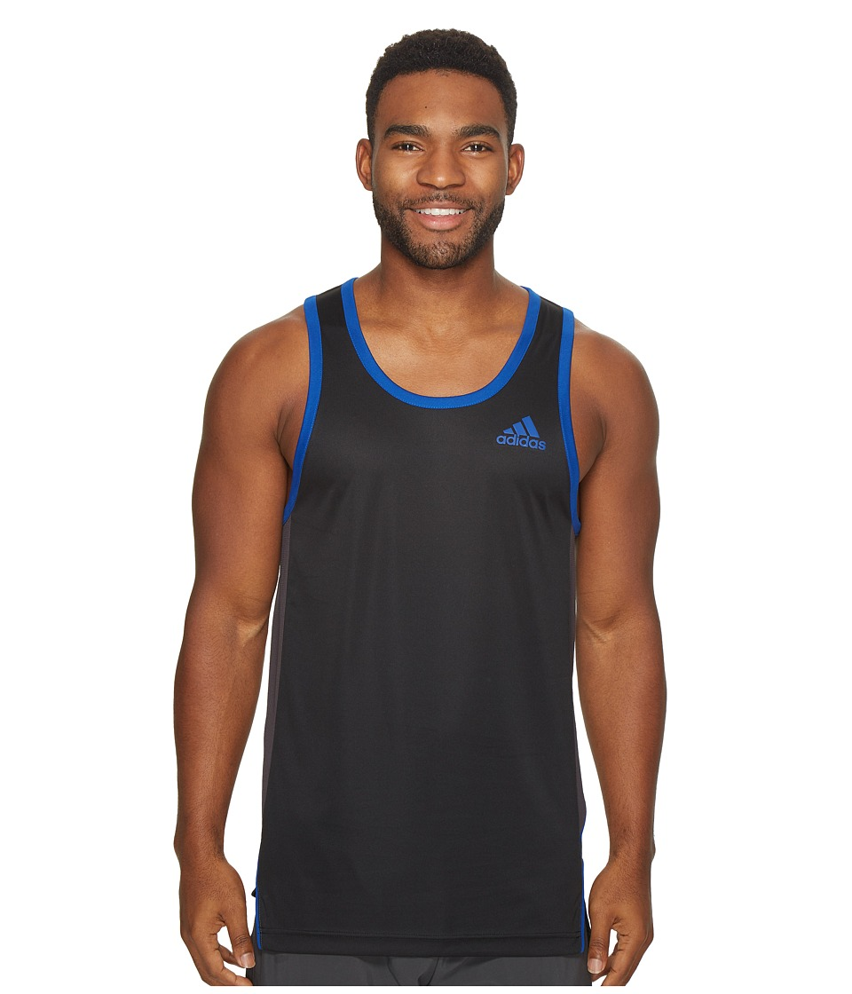 adidas - FDTN Tank Top (Black) Men's Sleeveless