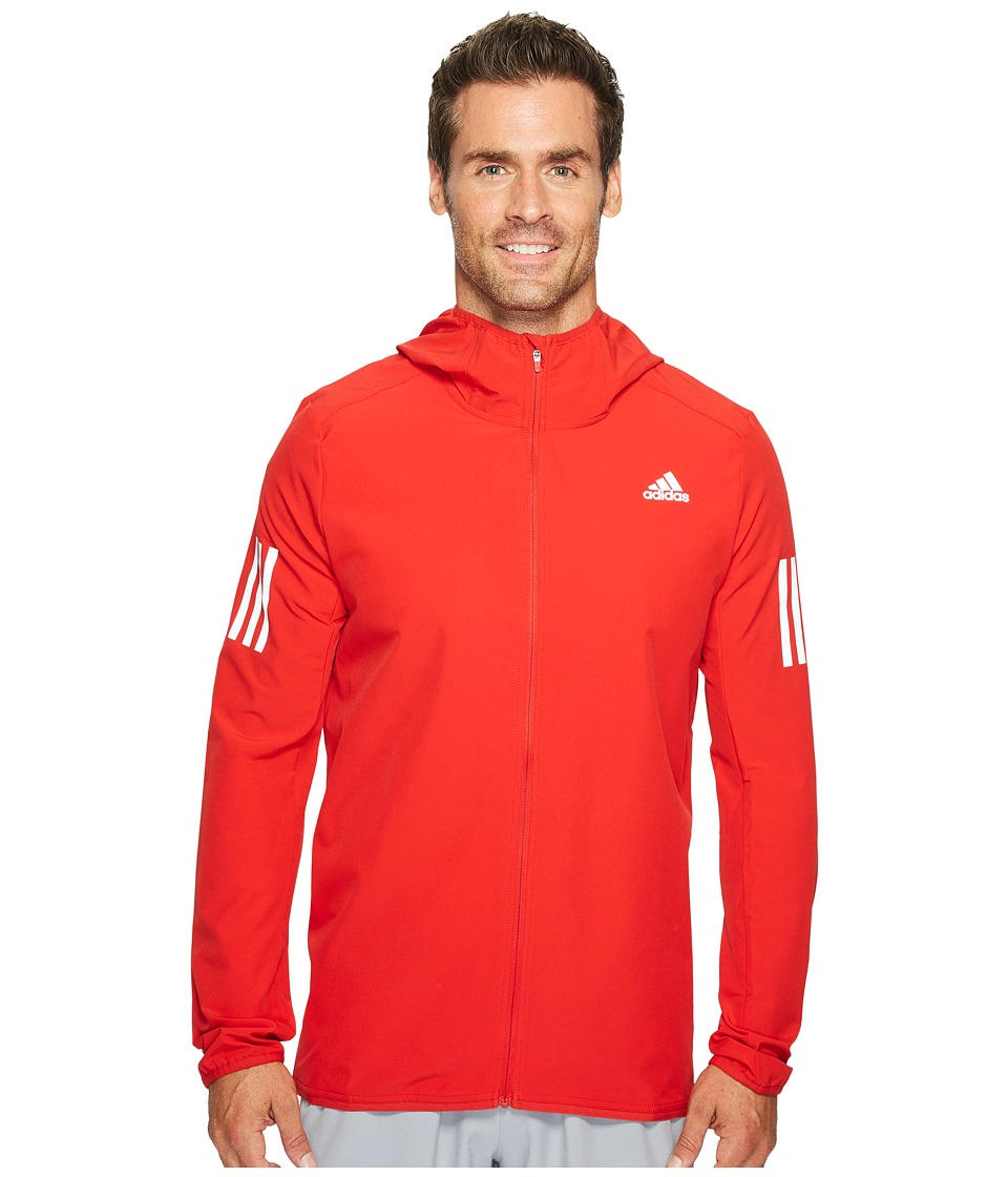 adidas Response Softshell Jacket (Scarlet) Men