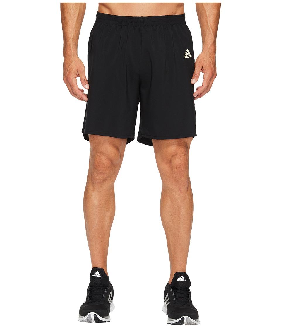 adidas - Response 7 Gold Shorts (Black/Gold) Men's Shorts
