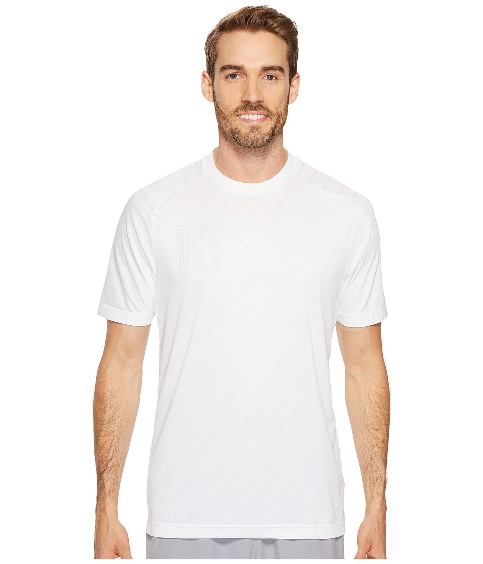 adidas - Tango Player Icon Jersey (White) Men's Short Sleeve Pullover