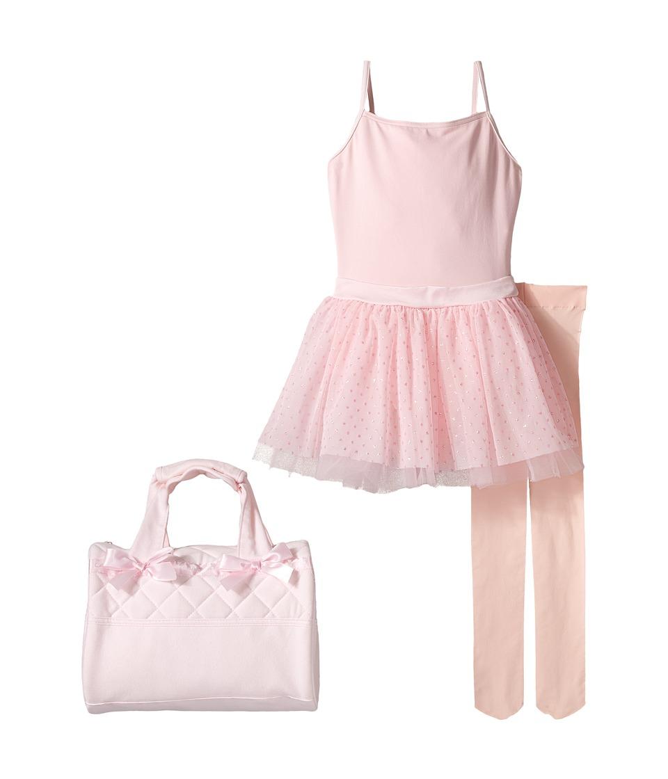 Capezio Kids - Dance Kit (Toddler/Little Kids/Big Kids) (Pink) Girl's Active Sets