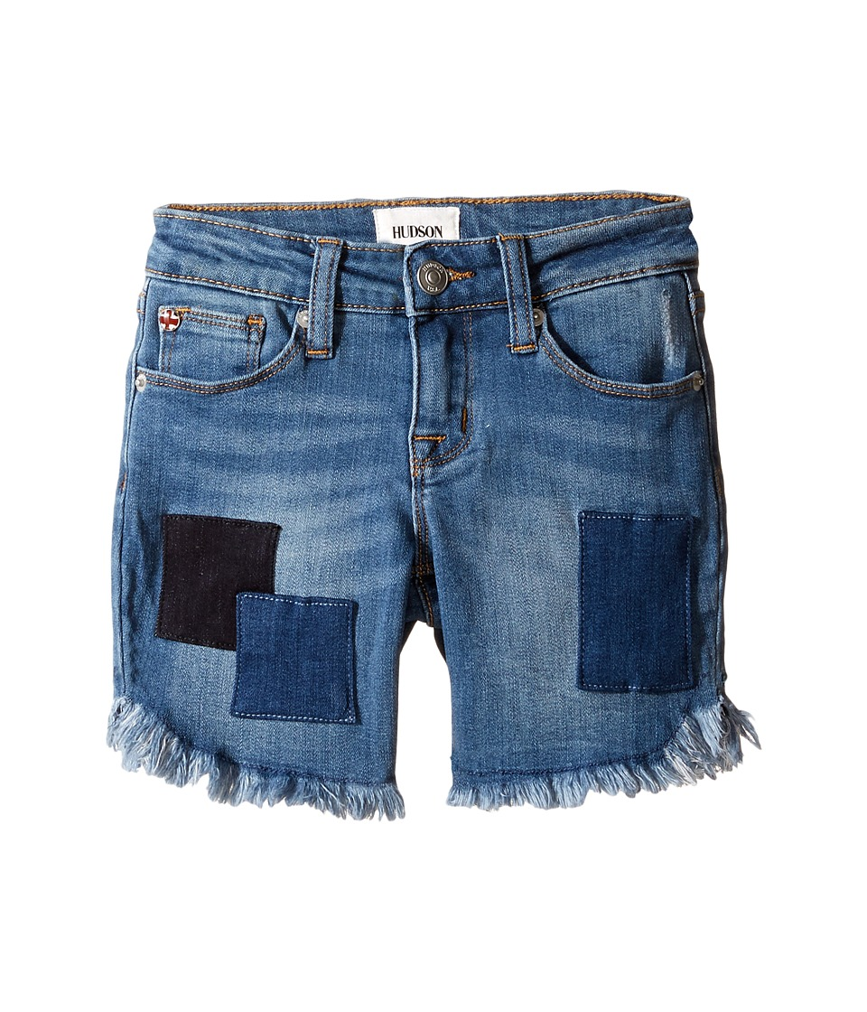 Hudson Kids - Shadow Midi Shorts in Beach Blue (Big Kids) (Beach Blue) Girl's Shorts