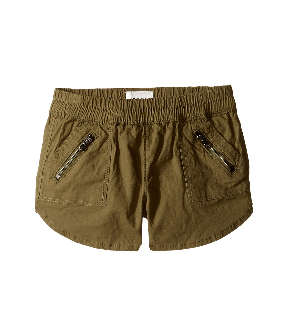 Hudson Kids - Twill Jogger Shorts with Zippers in Amazon (Big Kids) (Amazon) Girl's Shorts