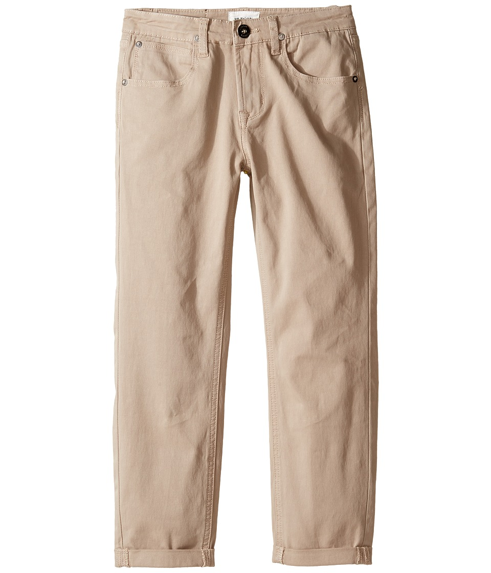 Hudson Kids - Slim Leg Double Roll Cuff Sateen in Kelp (Big Kids) (Kelp) Boy's Casual Pants