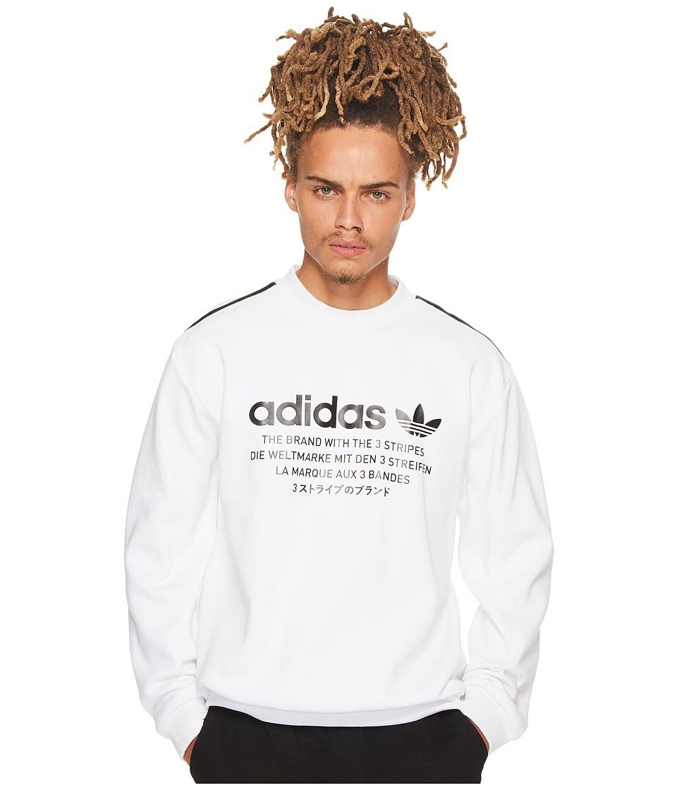 51caff9709e89 UPC 191021965482 product image for adidas Originals - NMD Crew (White Black)  Men s ...