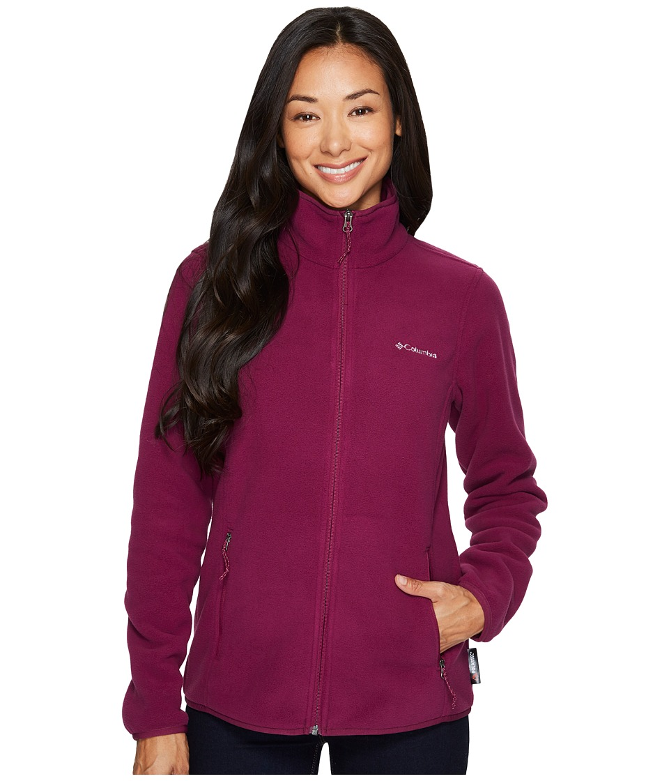 Columbia Fuller Ridgetm Fleece Jacket (Dark Raspberry) Women