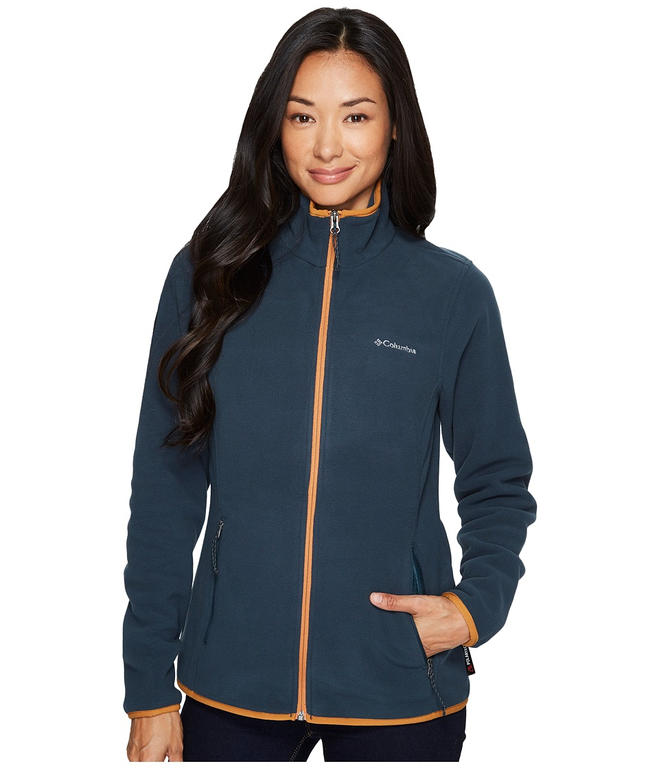 Columbia Fuller Ridgetm Fleece Jacket (Night Shadow/Canyon Gold) Women