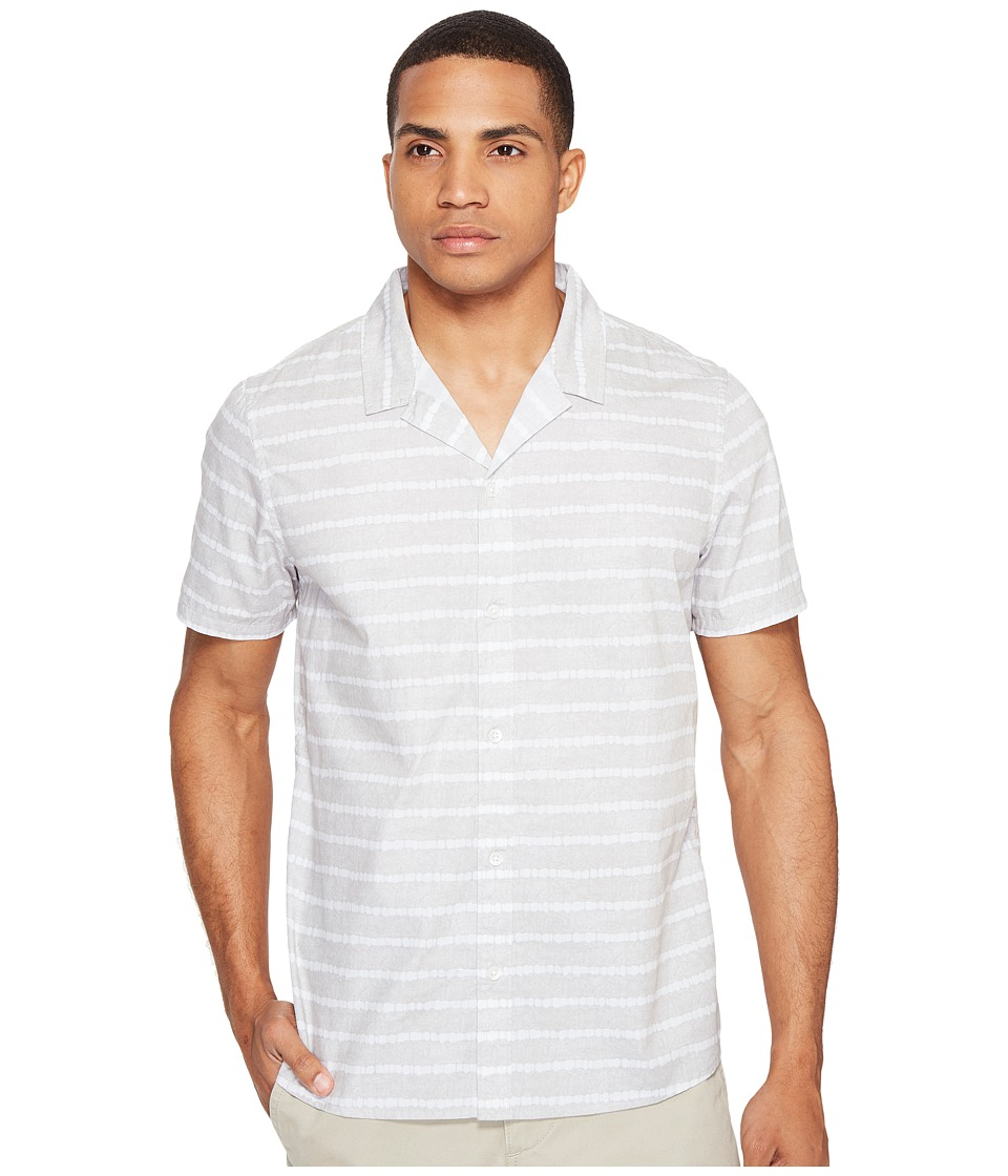 Threads 4 Thought - Brandon Beach Short Sleeve Woven (Glacier) Men's Clothing