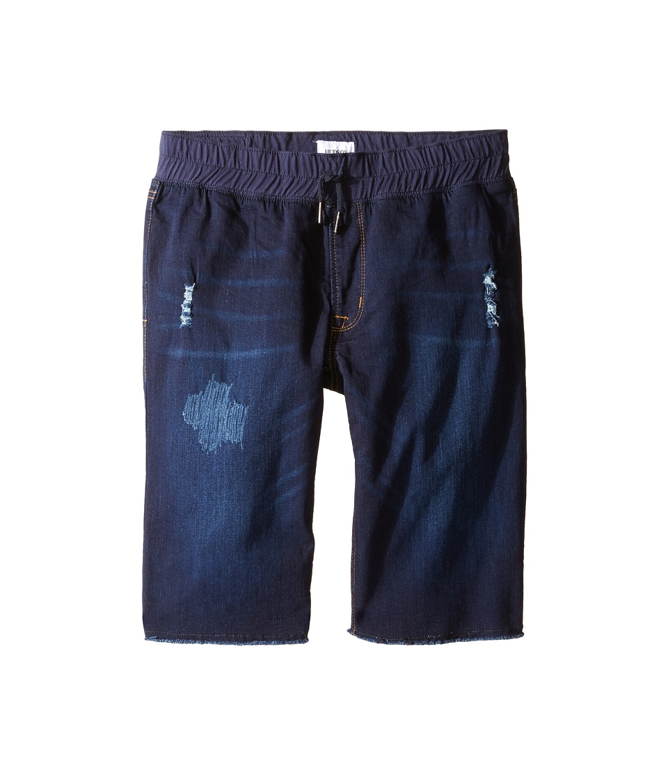 Hudson Kids - French Terry Pull-On Shorts in Power Blue (Big Kids) (Power Blue) Boy's Shorts