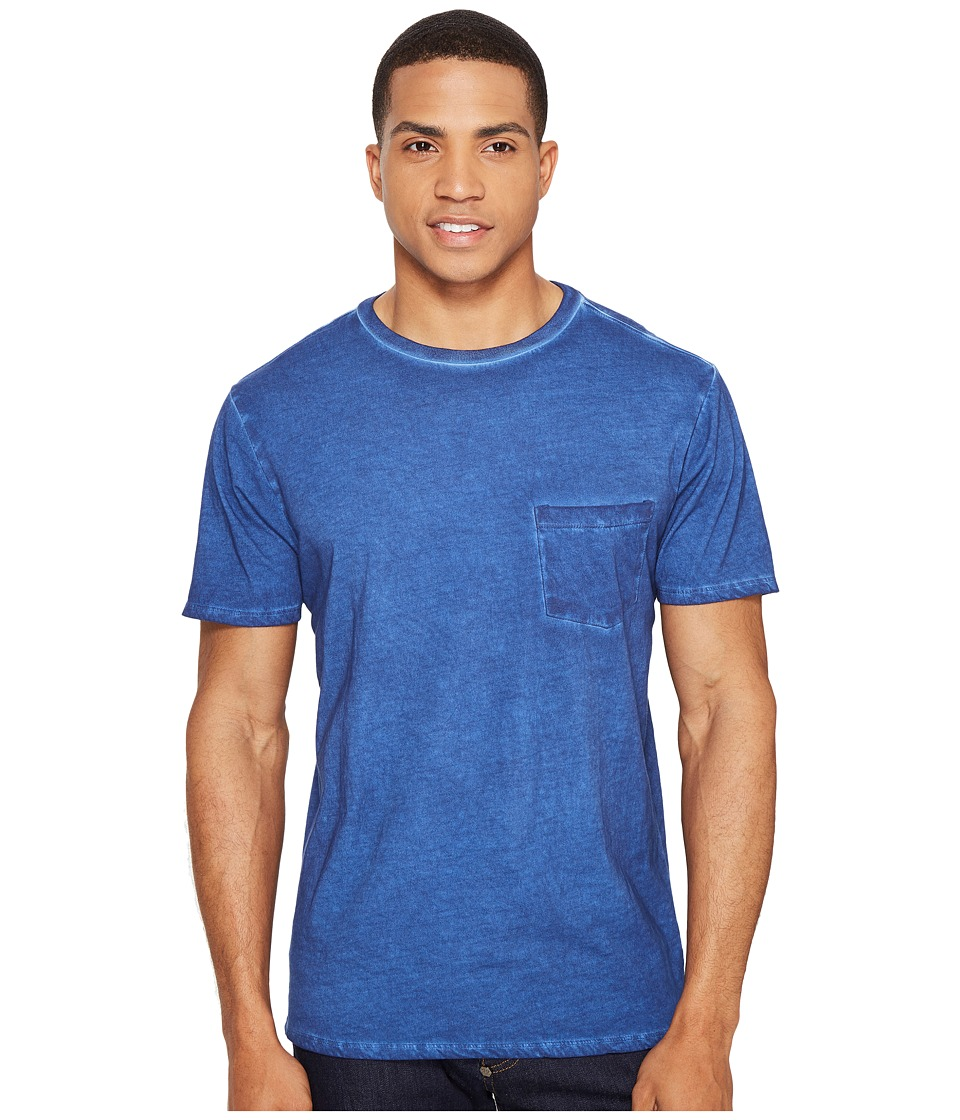 Threads 4 Thought - Rainwash Pocket Crew Tee (Deep Navy) Men's T Shirt